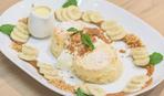 Король десертов: творожное суфле с бананом (видео)