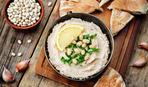 Фасолевый хумус с тхиной по-украински