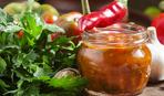 Острая кабачковая аджика с яблоками: пошаговый рецепт