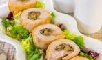 Блюдо дня: запеченные мясные рулетики с грибной начинкой