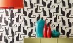 Модный декор стен при помощи трафарета: 10 оригинальных идей
