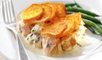 Рыбный пирог «Черепица» – вкуснее не придумаешь