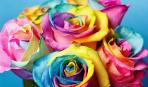 Как сделать радужную розу: пошаговый мастер-класс