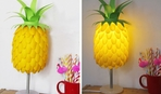 Делаем настольную лампу в виде ананаса