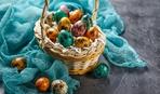 Как покрасить перепелиные яйца: идеи и фото
