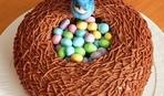 Пасхальное чудо: кулич «Соловьиное гнездо»