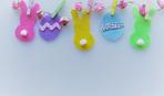 Пасхальные украшения из фетра: 7 фото-идей