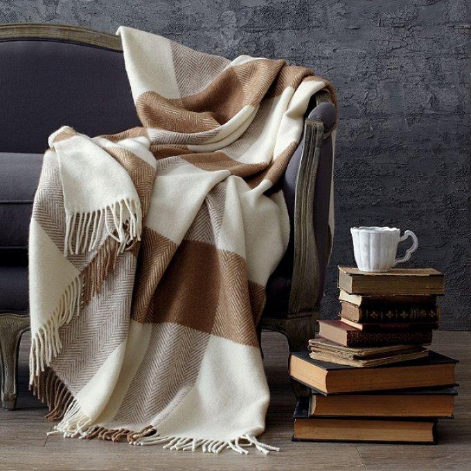 Плед – тепло, уютно и стильно: как выбрать подходящий?