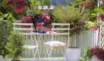 Красота миниатюрных садов на балконе и террасе