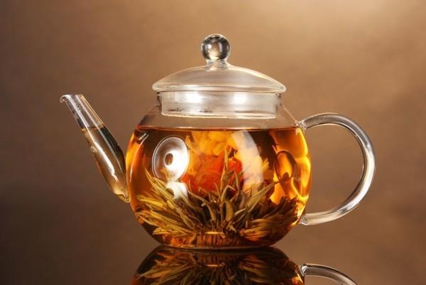Китайский связанный чай – и вкус, и зрелище!