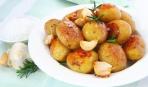 Великий пост: картофель с чесночным соусом