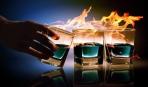 Самые экстремальные коктейли мира: Пылающий Ламборджини