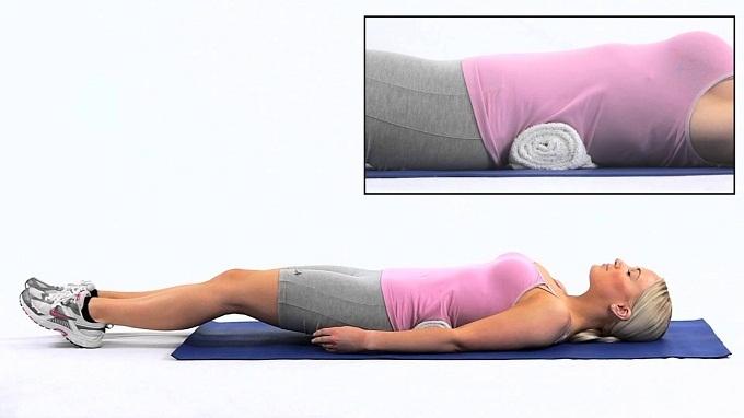 Как похудеть с помощью полотенца