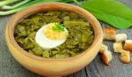 Блюдо дня: зеленый борщ на новый лад