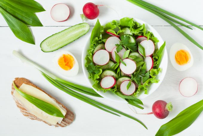 Весенняя зелень: черемша и блюда из нее