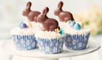 Пасхальные капкейки с кроликами