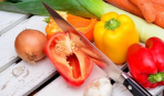 Как нарезать продукты: основные способы и правила
