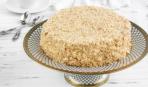 Торт на сковороде - очень необычный рецепт