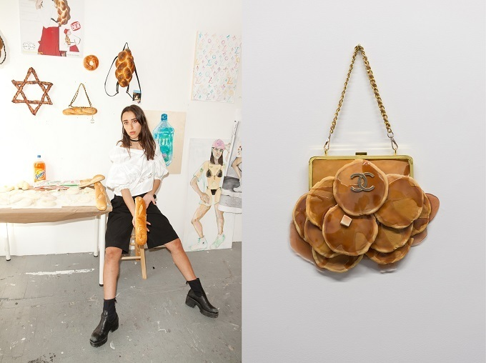 Американская художница делает сумки из хлеба