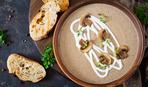 Нежный суп-пюре из грибов