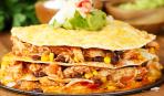 Закусочный пирог-пятиминутка из лаваша