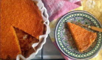 Постный пирог на томатном соке