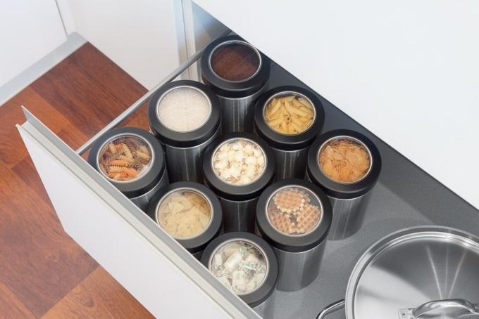 Емкости для хранения продуктов: как и в чем хранить