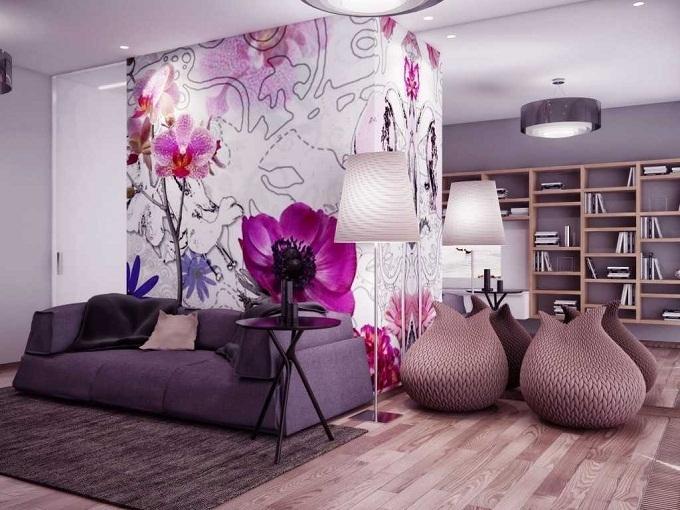Цветочный принт в интерьере: свежие весенние идеи