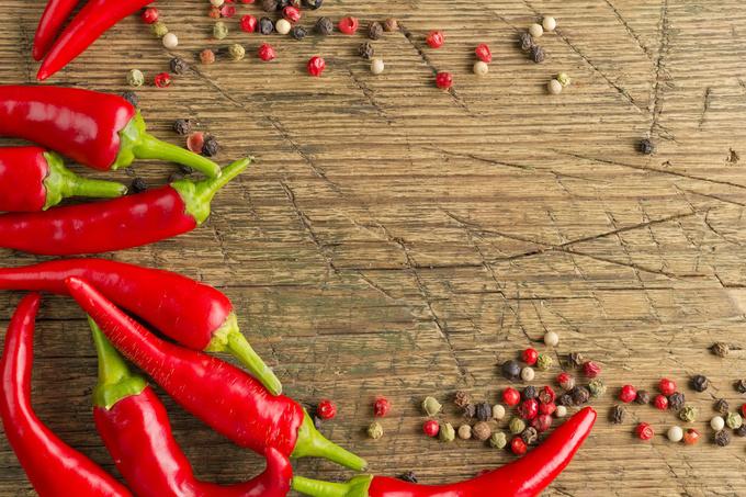 Экстремальное похудение: диета на красном перце