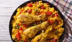 Блюдо дня: паэлья с куриными ножками