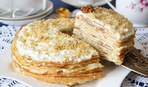 Пирог из блинов с творогом: удивительный рецепт на Масленицу