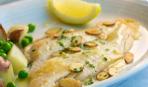 Жареная рыба в лимонном масле