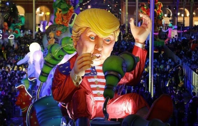 В Ницце проходит зимний карнавал