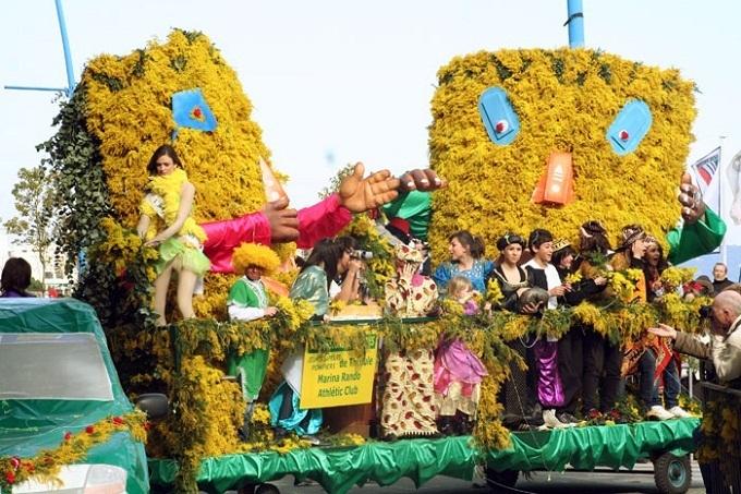 Сегодня стартовал Фестиваль мимозы на Лазурном берегу