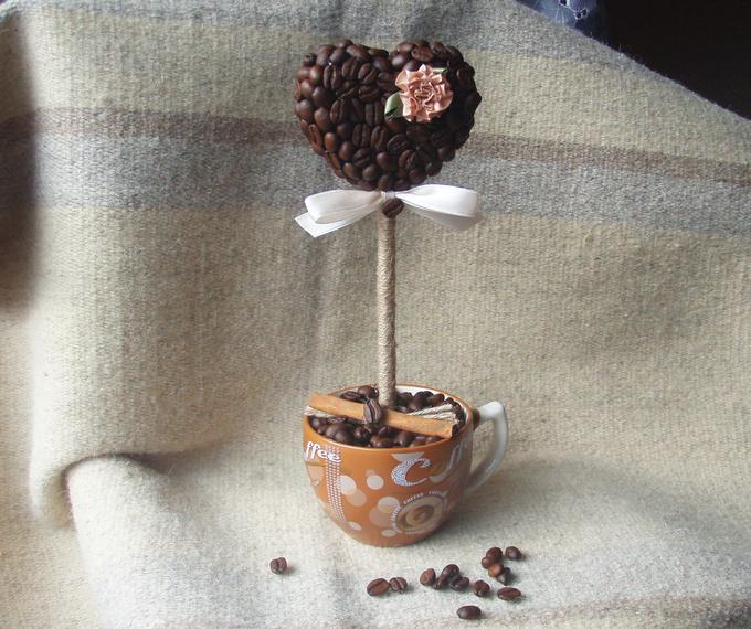 Поделки из кофейных зерен: лучшие идеи