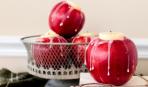 Декор для дома: как сделать подсвечники из яблок