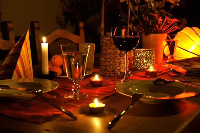 Романтический ужин на двоих: лучшие идеи