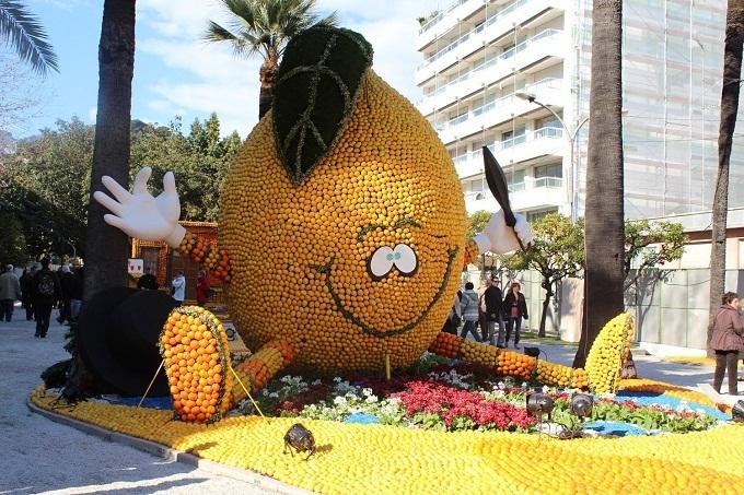 Фестиваль лимонов во Франции начнется 11 февраля
