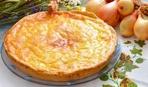 Сырный пирог с луком