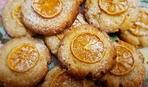 Новогоднее печенье из мандаринов