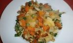 Что приготовить быстро: картошка с овощами в духовке