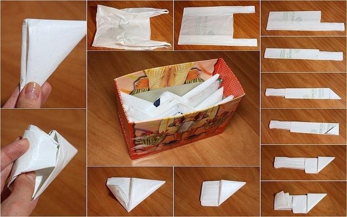 Как удобно хранить пакеты: лучшие идеи (видео)