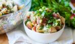 Зимние разносолы: картофельный салат с сельдереем