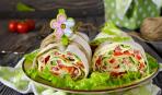 Рулеты из лаваша: 5 вариантов праздничных начинок