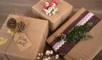 Как упаковать новогодние подарки: 3 секрета (видео)