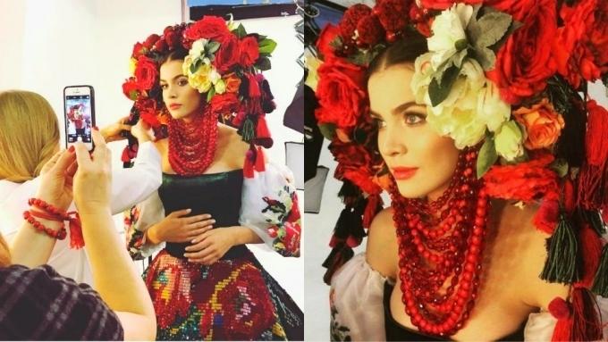 «Мисс-Вселенная 2016» нарядится в 25 килограммов «красоты»