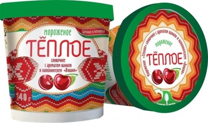 Белорусы выпустили «аномальное» мороженое