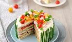 3 закусочных торта без выпечки на 8 марта