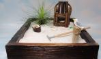 Как превратить стол в сад камней (видео)