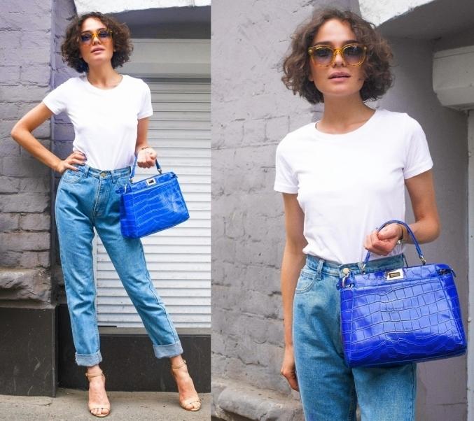 Модный гардероб: что такое mom jeans и с чем их носить